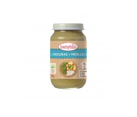 Babybio Tarrito Ecológico De Verduras Y Merluza 200g