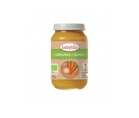 Babybio  Tarrito Ecológico De Verduras Y Quinoa 200g