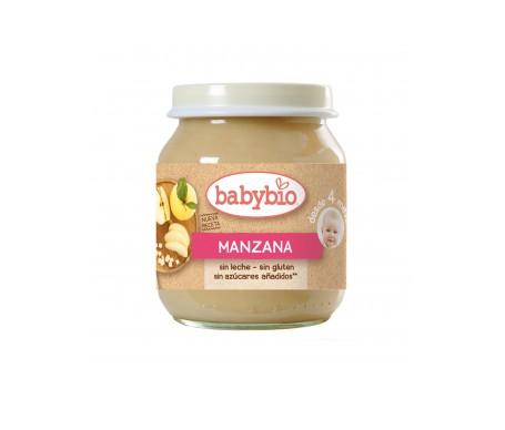 Babybio Tarrito Ecológico de manzana 130g