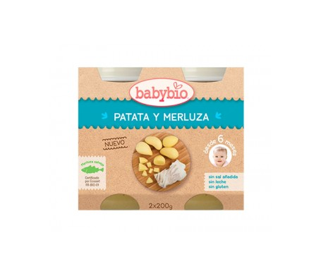 Babybio Tarrito Ecológico De Boniato  2x130g