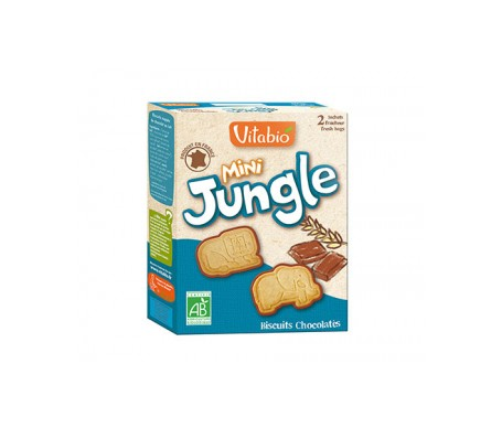 Vitabio Galletas Ecológicas Mini Jungle 160g