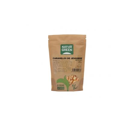 Naturgreen Caramelos Ecológicos De Jengibre 125g