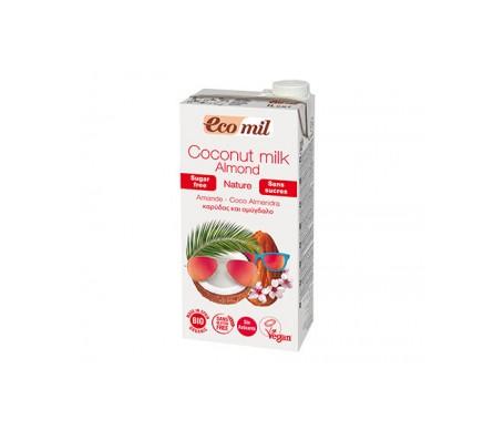 Ecomil Bebida Ecológica De Coco Cacao 1 L