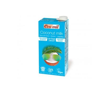 Ecomil  Bebida Ecológica De Coco Con Calcio Baja En Azúcar 1 L