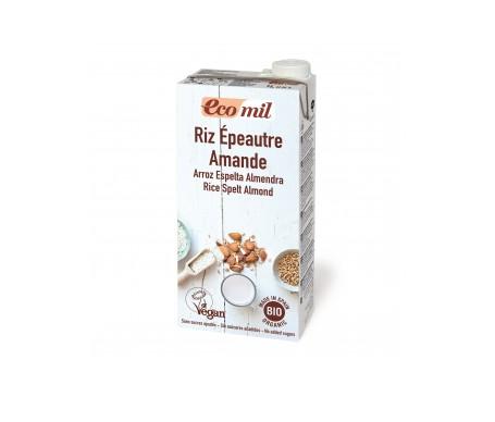 Ecomil Bebida Ecológica De Arroz, Espelta Y Almendra 1l