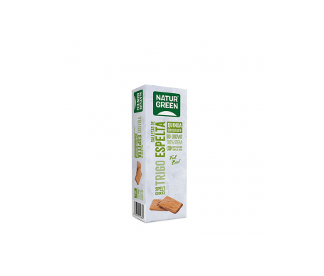 Naturgreen Galleta Ecológica  Espelta Quinoa Chocolate 190 G