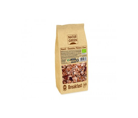 Naturgreen  Muesli Choco Banana Coco Sin Gluten Bio 350 G