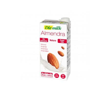 Diemilk  Leche De Almendra Natural 1L