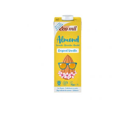 Ecomil Leche Ecológica De Almendra Original Vainilla 1l