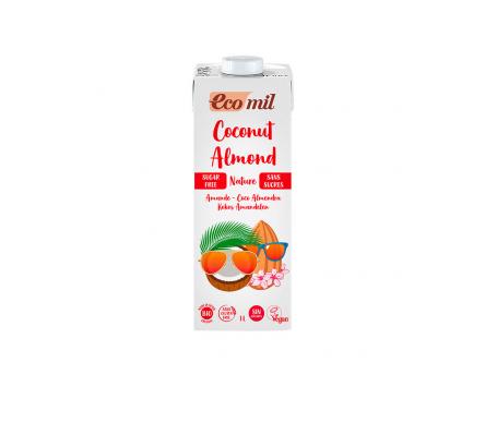 Ecomil Bebida Ecológica De Coco Almendra Calcium 1 L