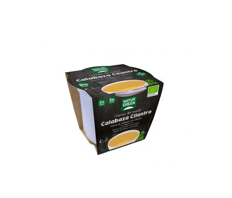 Naturgreen Crema Ecológica De Calabaza Y Cilantro 310 G