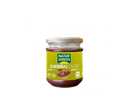 Naturgreen Crema Ecológica De Almendras Y  Cacao 200 G