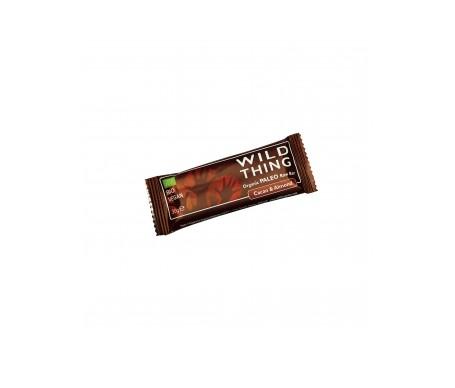 Wild Thing Barrita Ecológica De Cacao Y Almendras Raw Paleo 30g