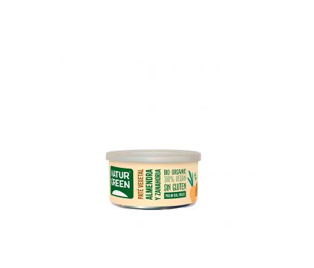Naturgreen Paté Ecológico De Almendra Y Zanahoria 125 G