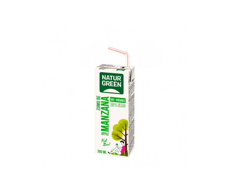 Naturgreen Zumo Ecológico De Manzana 200 Ml