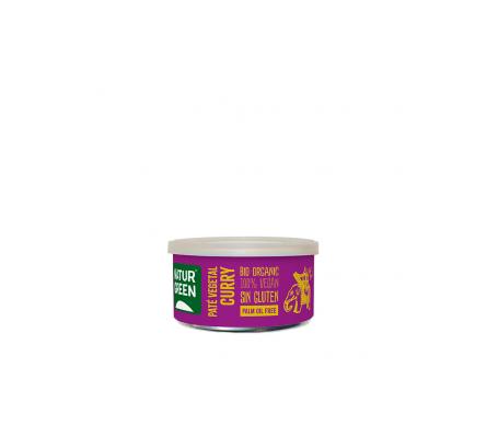 Naturgreen Paté Ecológico De Verduras Al Curry 125 G