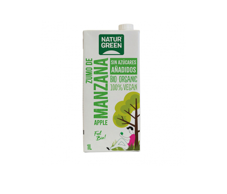 Naturgreen Zumo Ecológico De Manzana 1 L