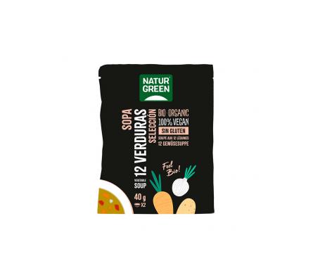 Naturgreen Sopa Ecológica Selección De 12 Verduras 40 G