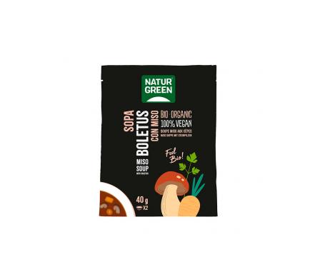 Naturgreen Sopa Ecológica De Boletus Con Miso 40 G