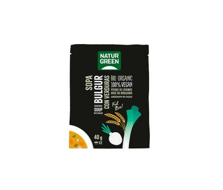 Naturgreen Sopa Ecológica Bulgur Con Verduras 40 G