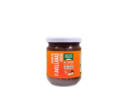 Naturgreen Crema Ecológica  De Avellanas Y Cacao 200 G