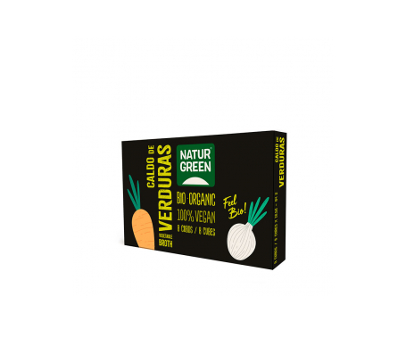 Naturgreen Cubito Ecológico De Caldo De Verduras (10x8,4 G)