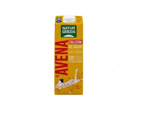 Naturgreen Bebida Ecológica De Avena Con Calcio 1l