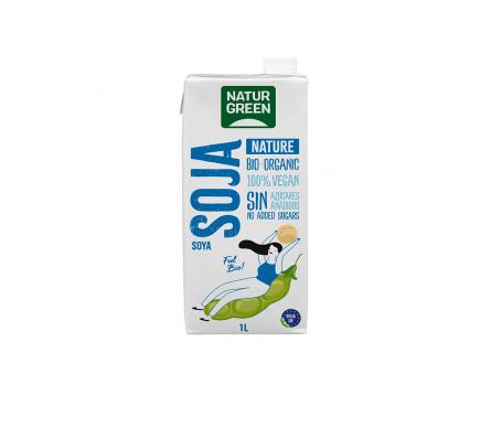 Naturgreen Bebida Ecológica De Soja Natural 1 L
