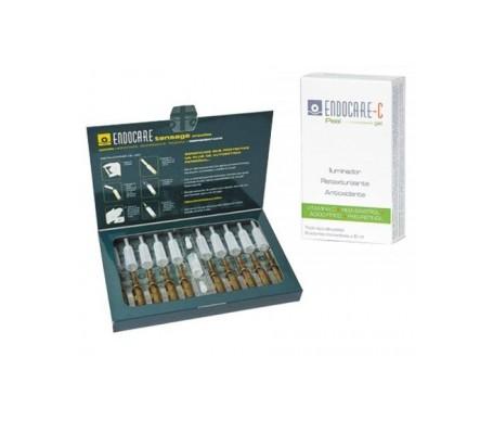 Endocare Tensage Pack 10 amp + GIFT Endocare C Peel Gel