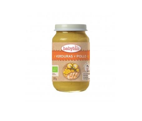 Babybio Tarrito Ecológico De Verduras Y Pollo 200g