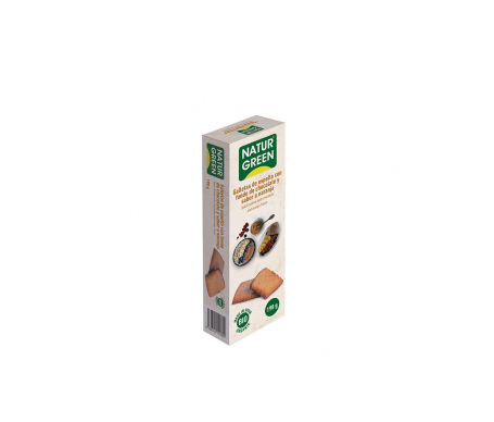 Naturgreen Galleta Ecológica Naranja Espelta Fondo Chocolate 190g