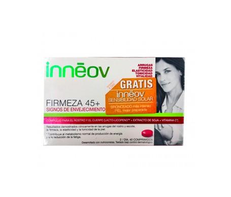Innéov Pack Firmeza 45+ 40 Comp + Sensibilidad Solar Gratis