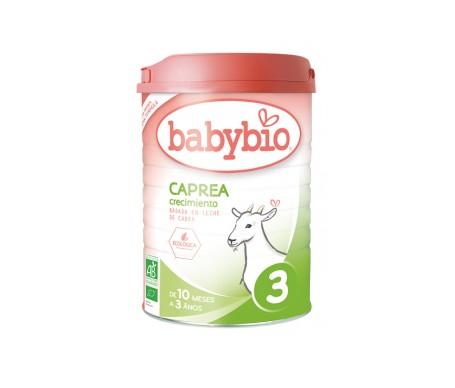 Babybio Caprea Leche Ecológica 3 de Crecimiento 900 g