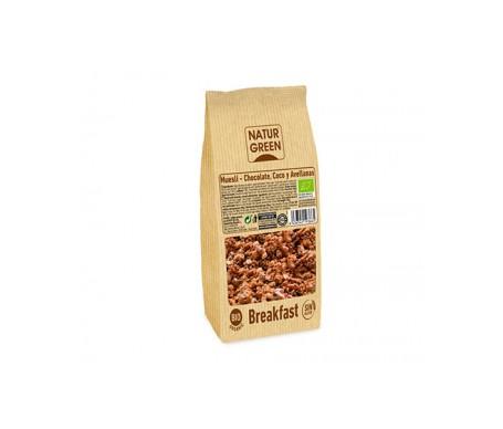Naturgreen Muesli Choco Avellana Coco Sin Gluten Bio 350 G