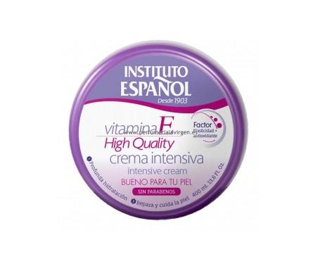 Instituto Español Crema Intensiva Con Vitamina E 400ml