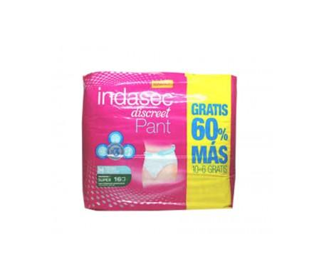 Indasec® Discret Pant Medium 10+ 6 Gratis