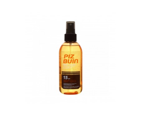Piz Buin® Wet Skin SPF15+ aceite spray 150ml 2 uds