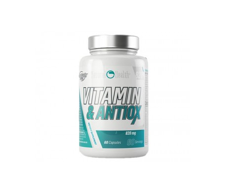 Natural Health Vitamin And Antiox 60cáps 820mg