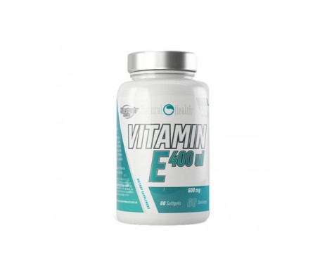 Natural Health Vitamin E 400 U.i. 60 Pearls 410mg