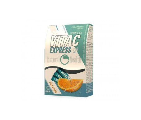 Santé Naturelle Vita C Express Saveur d'Orange 16 Enveloppes