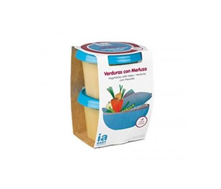 Interapothek Baby verduras con merluza 2x200gr