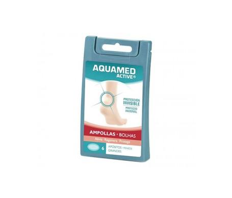 Aquamed Active Heel Blister 6 Dressings