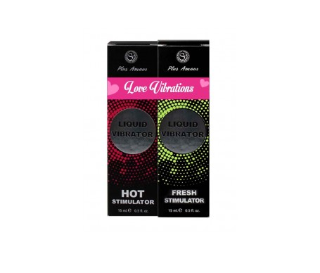 Secret Play Vibrador Líquido Love Vibrations 2x15ml