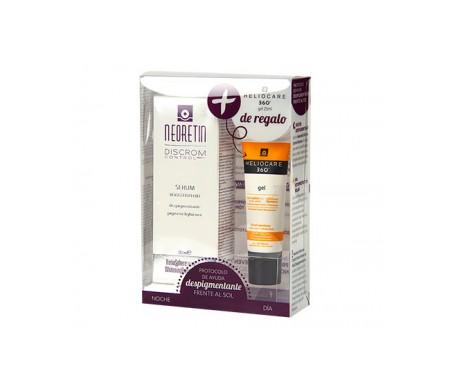 Siero di neoretina per il controllo del tono discromico + Heliocare 360 Gel 25 ml