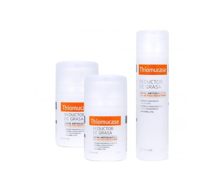 Thiomucase crema anticelulítica 200ml+ 50ml+50ml