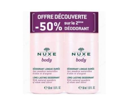 Nuxe Body Duplo Desodorante larga duración 2 x 50ml