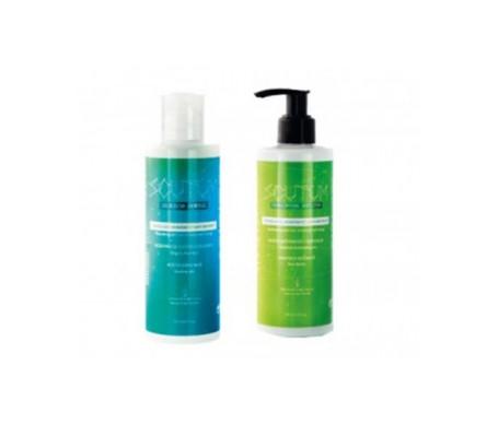 Scutum pack gel de ducha aromaterapia 250ml + Loción hidratante corporal aromaterapia 250ml