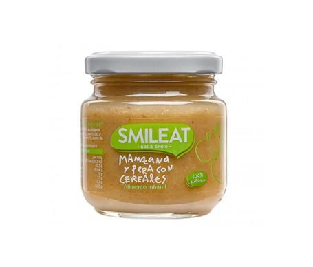 Smileat Tarrito Manzana Y Pera 100% Ecológico 130g