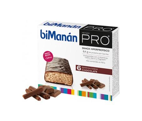 Bimanan Pro Barrita Chocolate 6uds