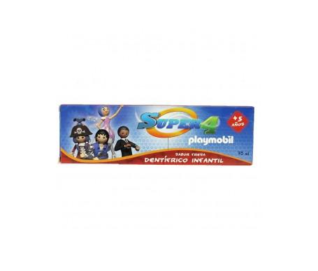 Super4 Playmobil Dentífrico Dental Infantil 75ml
